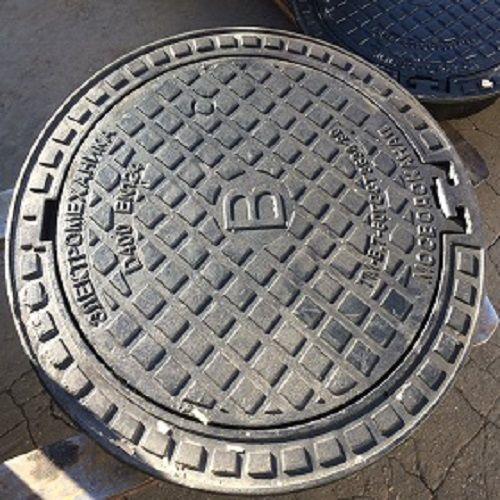 Люк чугунный водопроводный для смотровых колодцев ГОСТ 3634-99